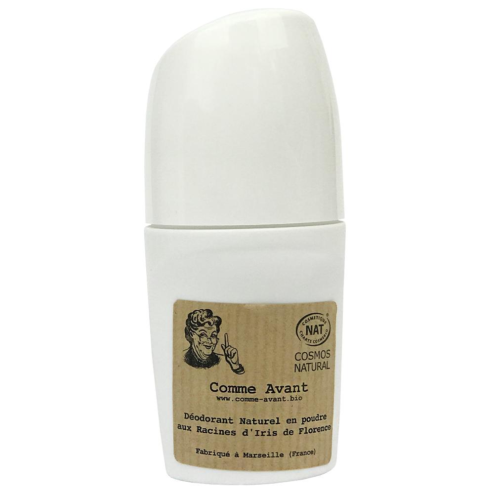 Deodorant roll on en poudre aux racines d iris de florence comme avant jpg